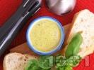 Рецепта Лесна и бърза домашна майонеза със зехтин, жълтъци и босилек